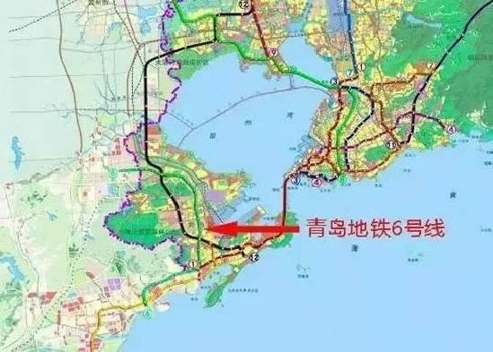 青岛地铁1 16号线完整站点及地标 经过你家门口吗图片