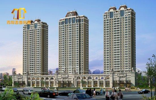 项目建筑采用欧式新古典主义风格