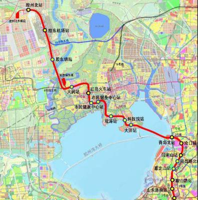 解读胶州 M16号支线途经李哥庄镇 京东物流园即将启用