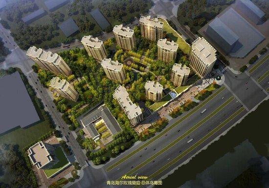 新都心核心海尔玫瑰兰庭 40-60㎡精装LOFT/平层公寓将开