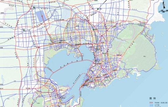 青岛中心城区打造六横九纵环湾路网,规划出炉