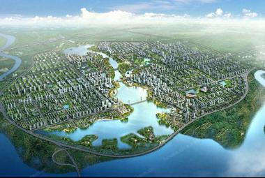 总投资1510亿的132个项目群正拔地而起,国家级经济技术开发区在胶州