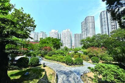 市北打造绿色宜居城区 新建、改建绿地59.82万平平