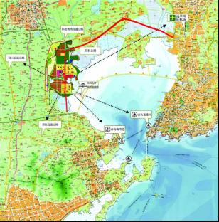 8,6,13,1号线),通过连接线与地铁,胶州开发区可快速融入青岛主城区和