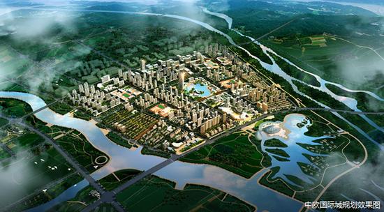 在中欧国际城 寓见更繁华的未来