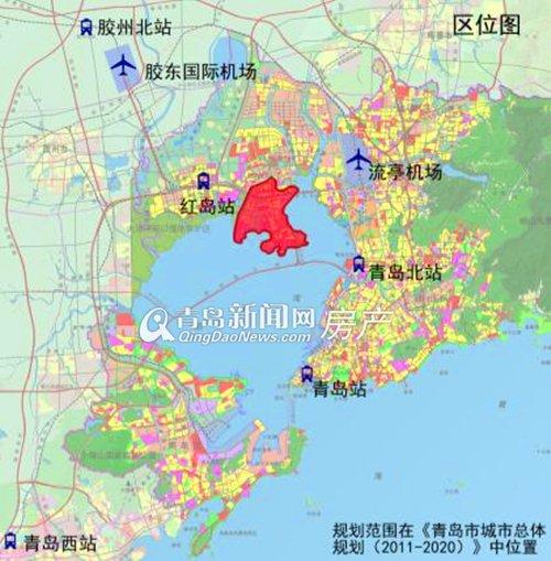 首发:红岛片区大规划出炉 将建设多元的文化旅游生态岛(多图)