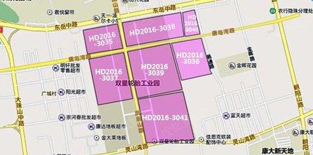 黄岛44万�O商住用地成功出让 山东中建14.4亿豪气包揽