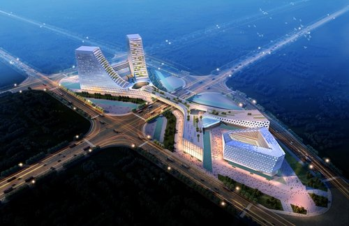 46个重点项目派对别墅硅谷签约项目投资总额223亿元蓝色乐活签约北京派图片