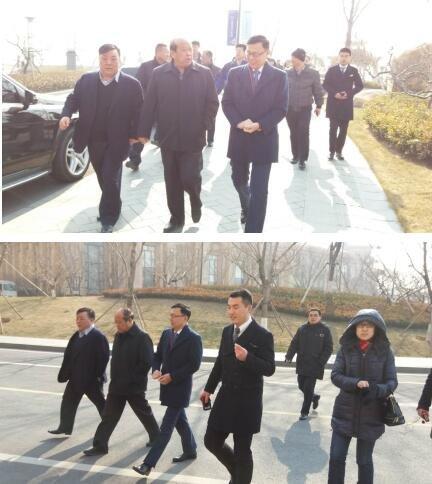 徐振溪副市长莅临青岛星河湾 共探地产发展未来