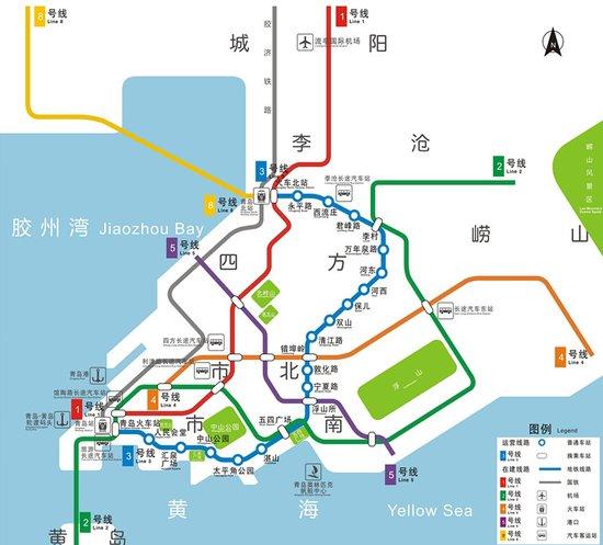 青岛地铁规划