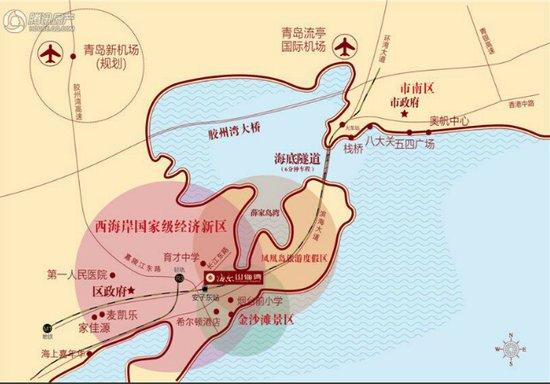 西海岸经济新区规划图