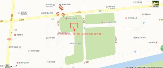 厦门路东侧,天津路西侧,周边有水岸府邸,绿城紫薇广场,胶州市劳动局图片