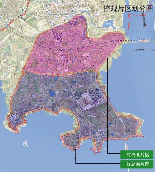 红岛片区控规批前公示发布 打造北岸城区公共服务设施聚集区