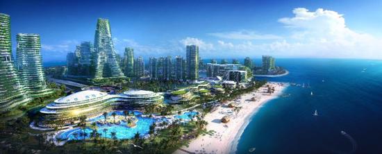 马来西亚首相宣布:新加坡旁碧桂园森林城市成为免税岛