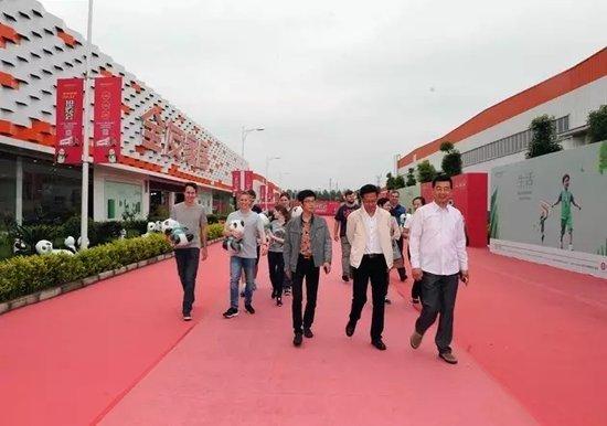 华中产业新城迎来德国海登海姆市考察团