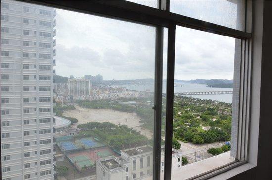 多角度观海的双子楼—越秀国贸新城