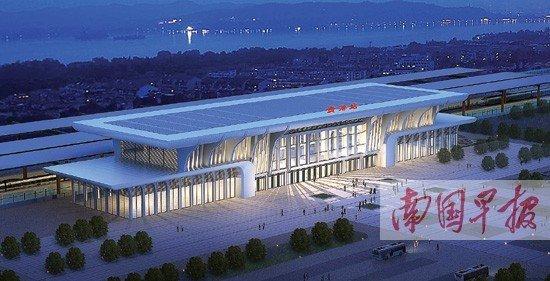 贵港高铁站图片