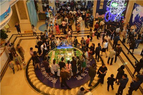 万亿恒大 巨献防城港 恒大悦珑湾城市展厅耀世绽放!