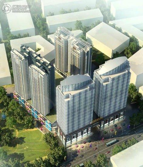 北部湾商业中心107-186㎡公寓式写字楼均价4500元/㎡