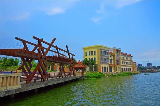 城市行摄:集观光、摄影、垂钓于一体的防城港桃花湖公园