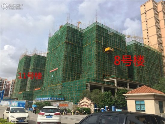 2017年6月防城港各大楼盘工程进度图(持续更新)