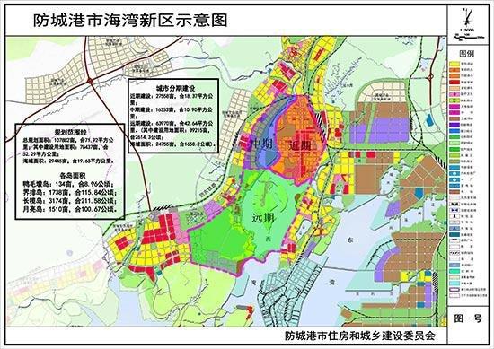 北部湾未来的标志——防城港海湾新区中央商务区