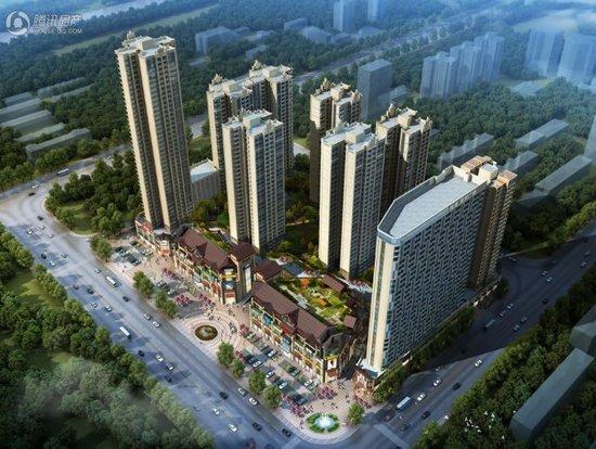桂海世贸广场在售40-135㎡单间两房三房四房户型 均价6300元/㎡