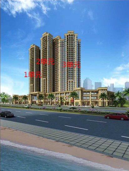 防城港凤景湾加推6号楼2、3单元住宅 均价5600元/㎡