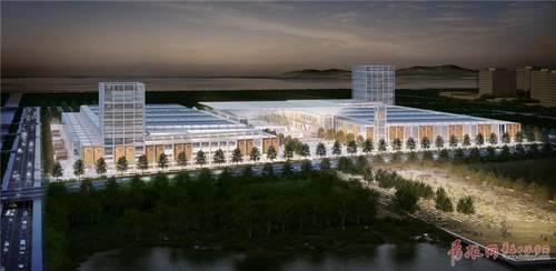 青岛速度!红岛会展中心首月完工3成,明年10月启用