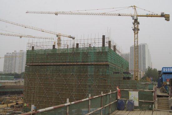 秦皇岛茂业中心项目进展 西部板块商业中心崛起