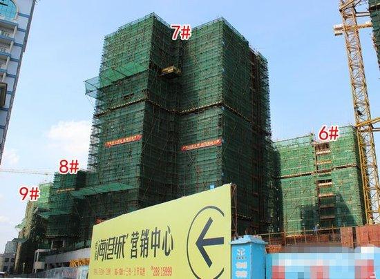 卓辉海港城:3#楼建17层 9#均价涨至6900元/㎡