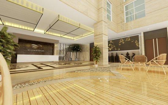 7米挑高大堂是领show财富中心与国际写字楼同步接轨的标志之一.图片