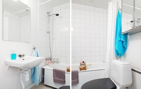 瑞典56平米单身女子迷情公寓
