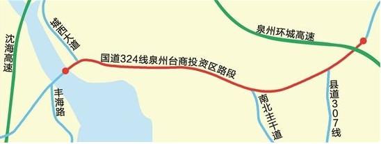 国道324线台商区段拓改工程进入扫尾冲刺 下月完工
