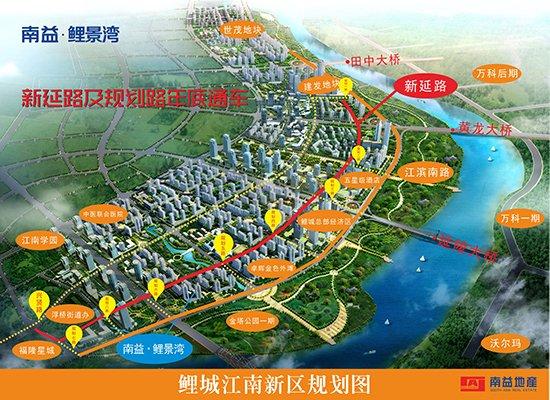 江南新区规划图