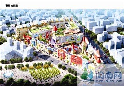 儿童创意乐园,地处市区新华路和堤后路交叉口