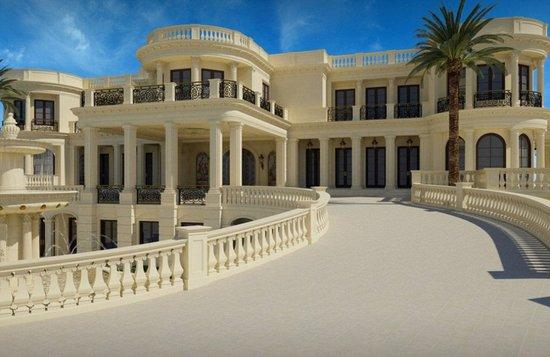 """美国""""皇家公馆""""欲10亿出售 内有6瀑布或成最贵别墅"""