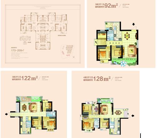 新天城市广场:92-209㎡新品正式认筹 样板房同步绽放