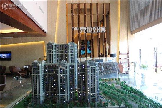 万道克拉公馆:2#楼建至12层 2-3房火热销售中