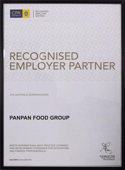 盼盼食品获得全球雇主认证