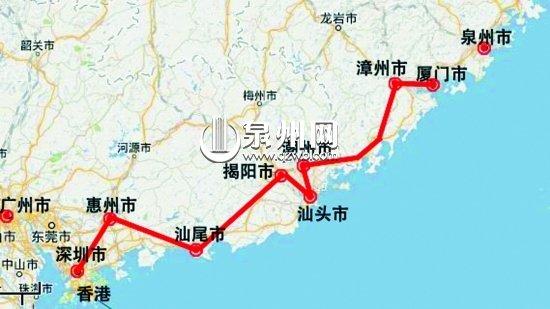 厦深铁路福建段贯通 年底泉州至深圳只需4小时