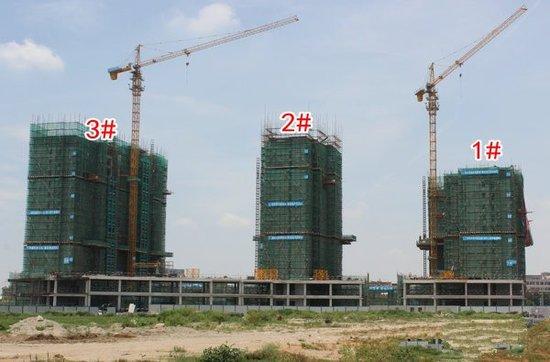 德伦苹果公园:2#3#楼建至第15层 5528元/㎡起