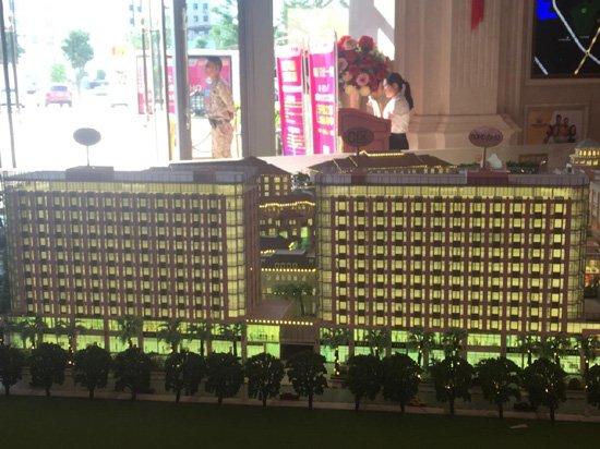 和平国际广场:沿和平路商铺 均价23000-24000