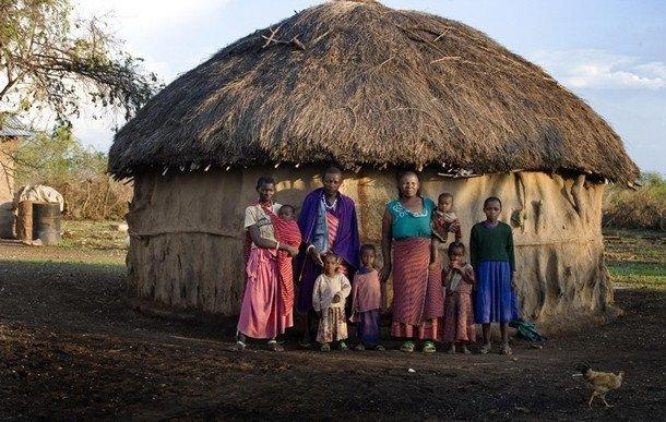 网友实拍坦桑尼亚农村房 真叫人大开眼界