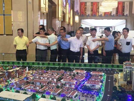 八月大咖来袭之最大咖!市委书记刘文儒莅临新城吾悦广场调研工作