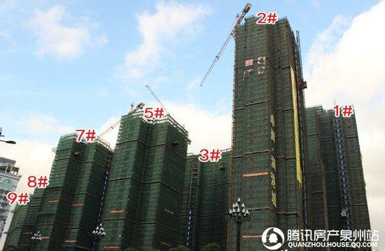 卓辉海港城:主推3#楼、5#楼 均价7200元/㎡