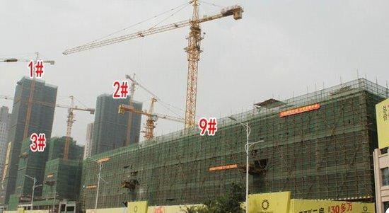 卓辉海港城:9#楼均价6700元/㎡ 预计2017年底交房