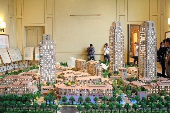 如果想看未来的泉州万科城张什么样,不妨去厦门湖心岛看看.