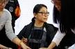58岁倪萍签售新书 容颜老去但气质依旧