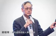 高风咨询谢祖墀:人工智能,终将成为社会问题